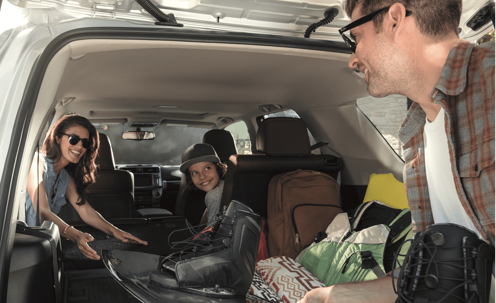 2019 Toyota 4Runner Cargo Area