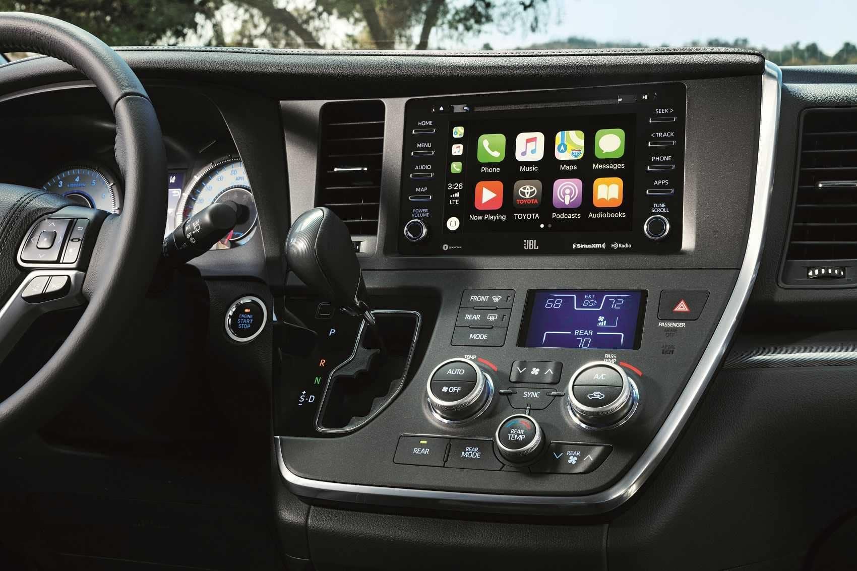Toyota Sienna Interior Technology