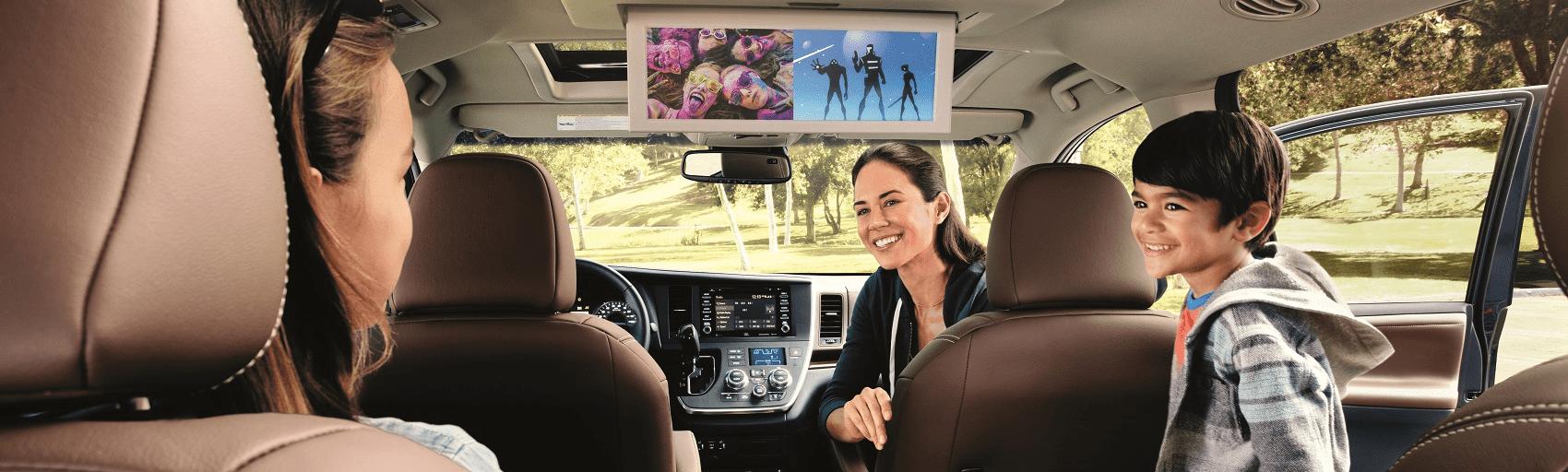Toyota Sienna Interior Space