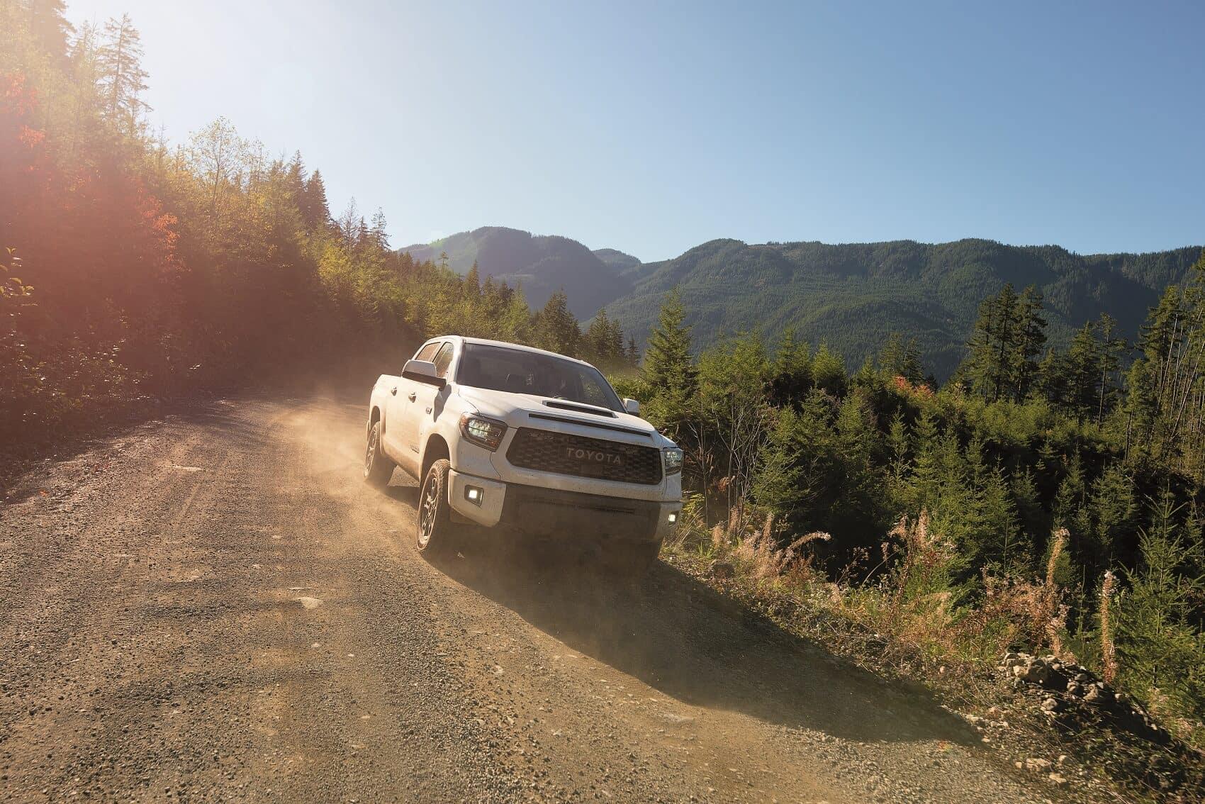 2020 Toyota Tundra Off-Roading