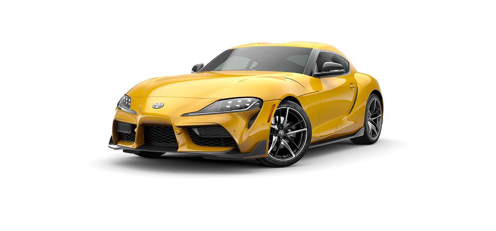 Toyota Supra Nitro Yellow