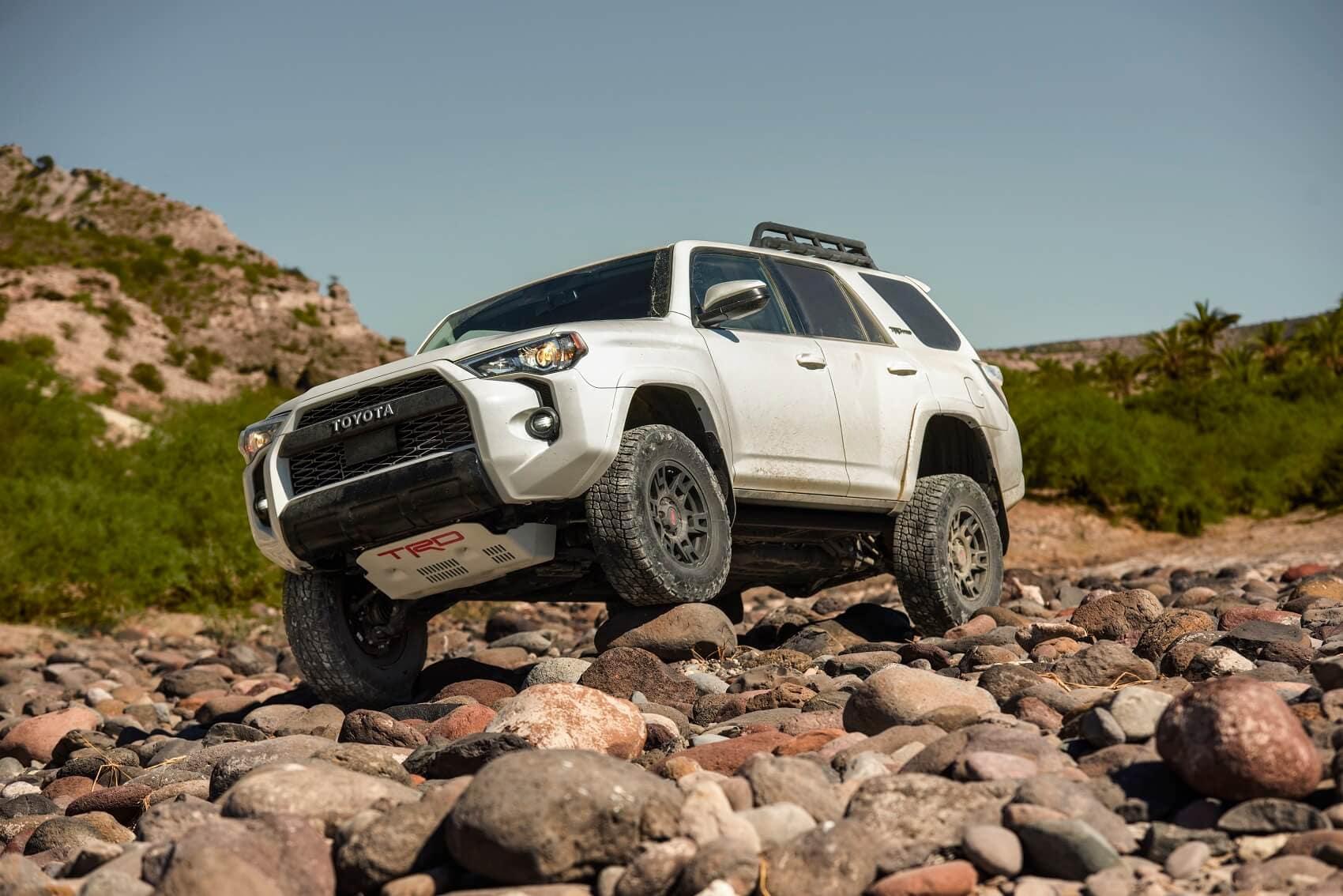 2020 Toyota 4Runner Off-Roading
