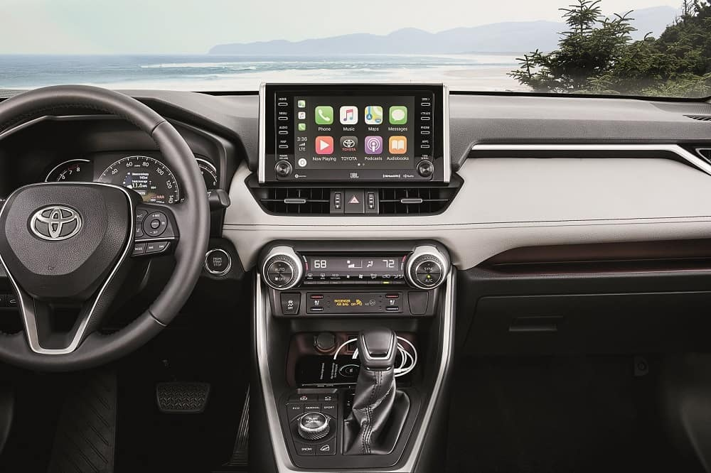 Toyota RAV4 Apple CarPlay® Technology
