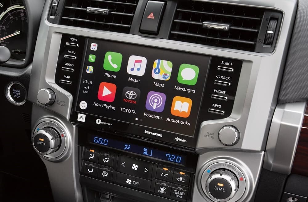 2020 Toyota 4Runner Interior Apple CarPlay® Technology