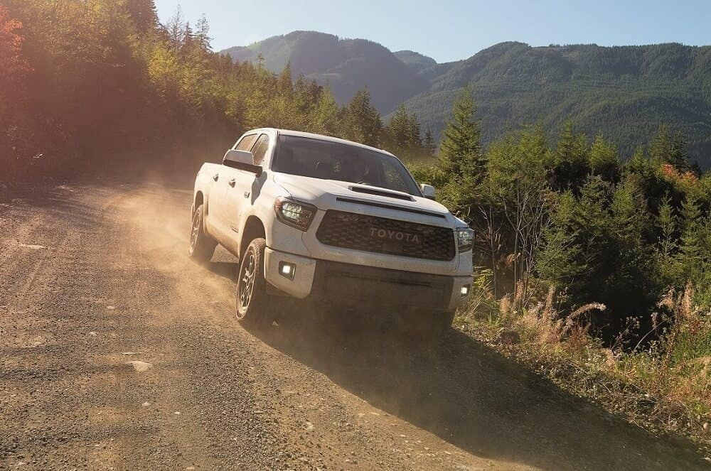 2020 Toyota Tundra Off Roading