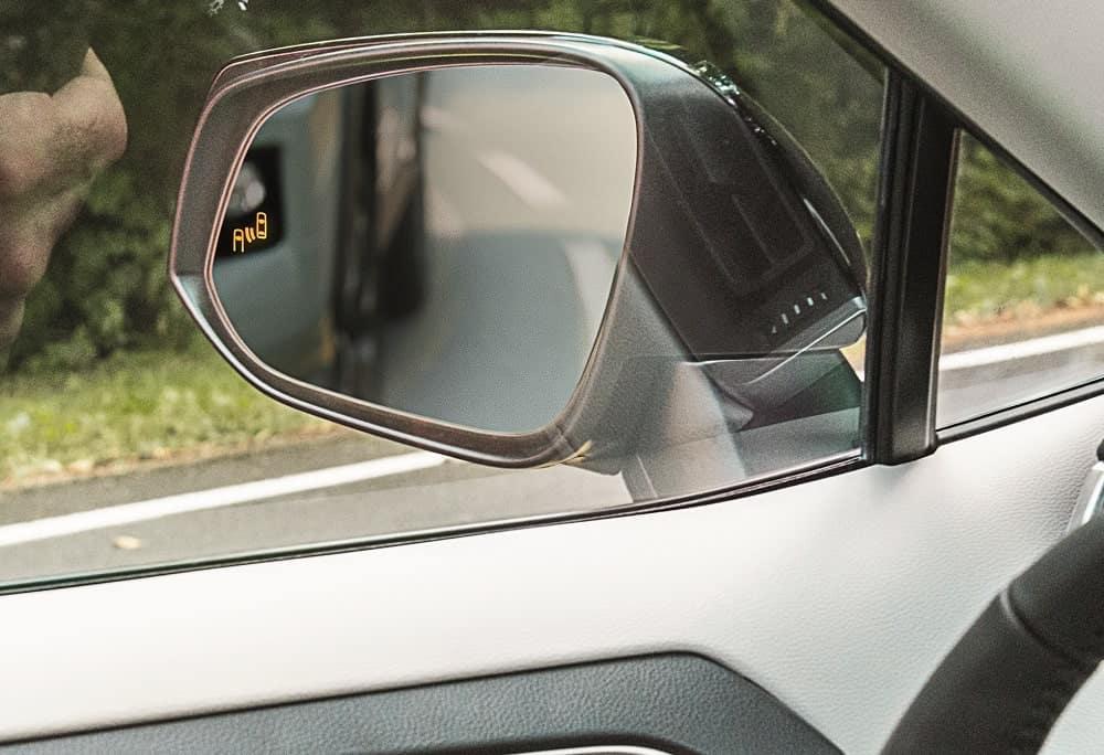 Toyota RAV4 Blind Spot Safety
