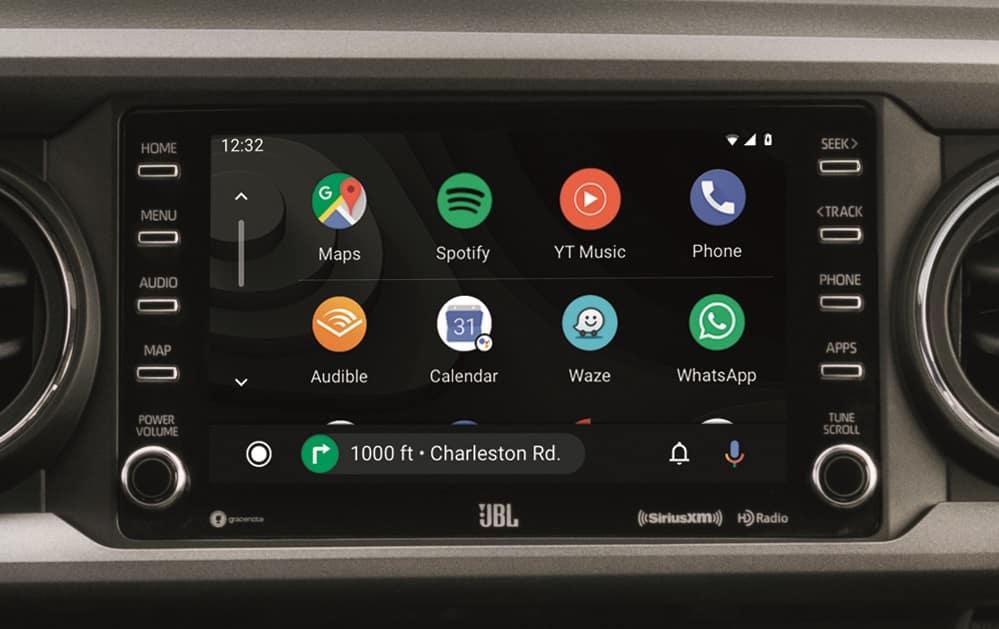 2020 Toyota Tacoma Interior with Android Auto™