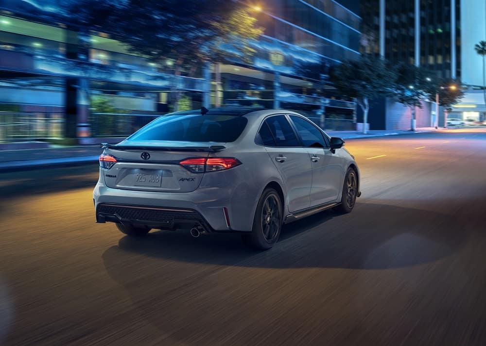 2021 Toyota Corolla Driving