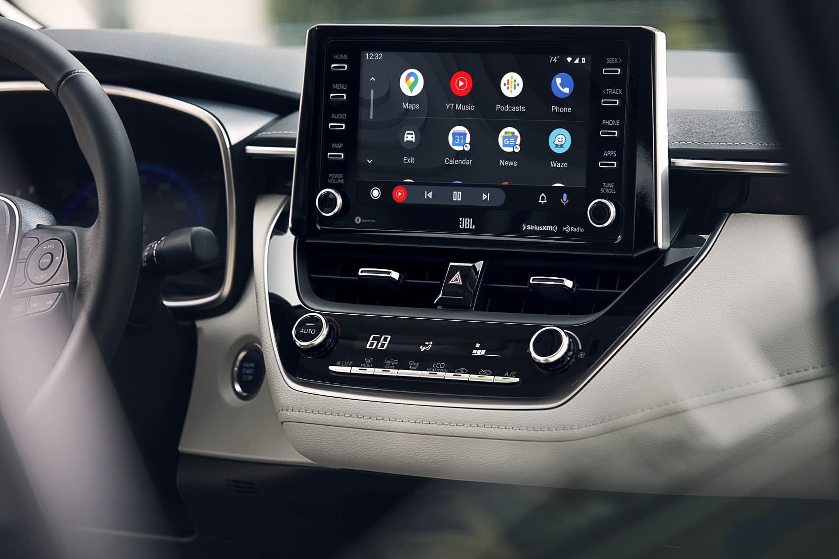 2021 Toyota Corolla Interior with Android Auto™