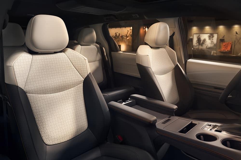 2021 Toyota Sienna Interior Space