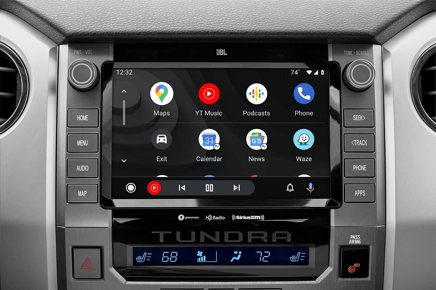 2021 Toyota Tundra Interior with Android Auto™ Integration