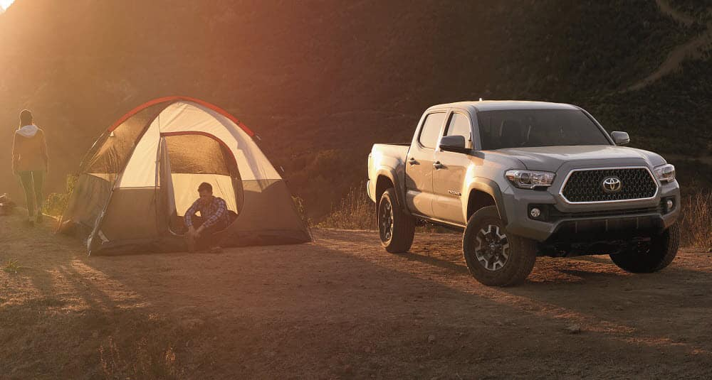 Camping with a Toyota Tacoma