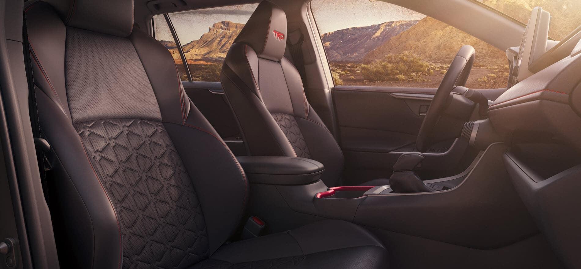Toyota RAV4 Passenger Space