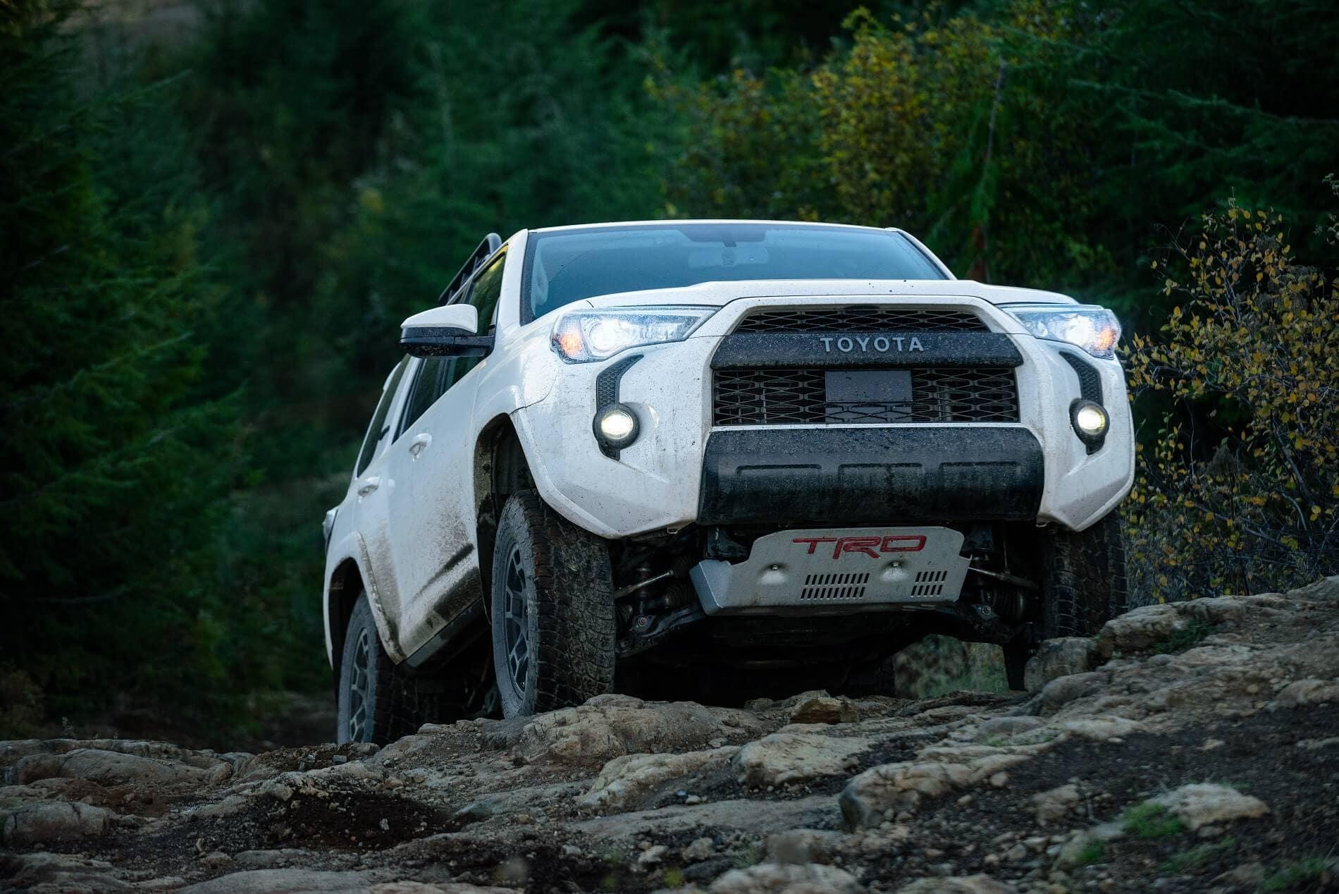 2021 Toyota 4Runner Off-Roading
