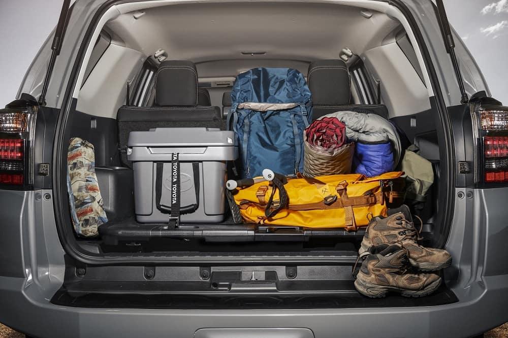 2021 Toyota 4Runner Cargo Space