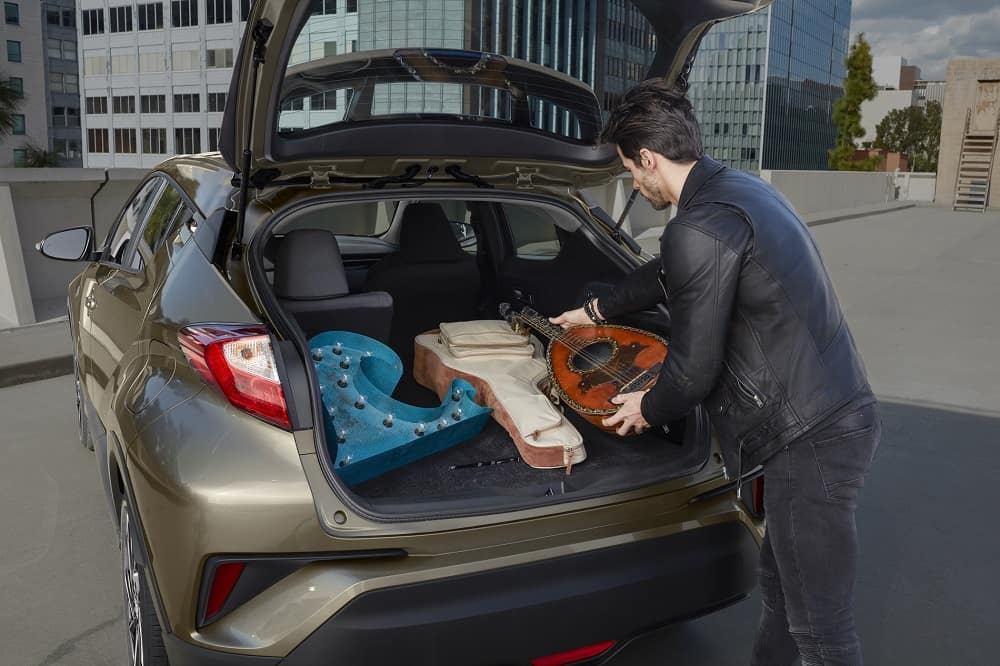 2021 Toyota C-HR Cargo Space