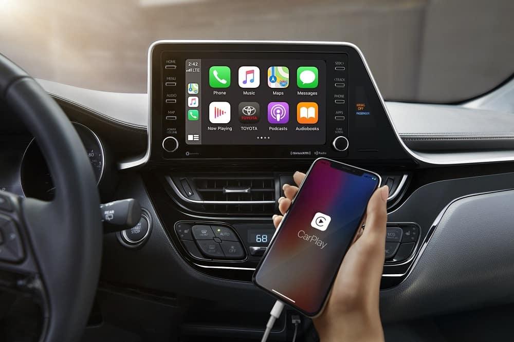 2021 Toyota C-HR Interior with Apple CarPlay® Technology