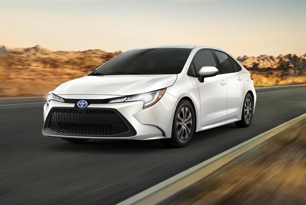 2021 Toyota Corolla Hybrid MPG