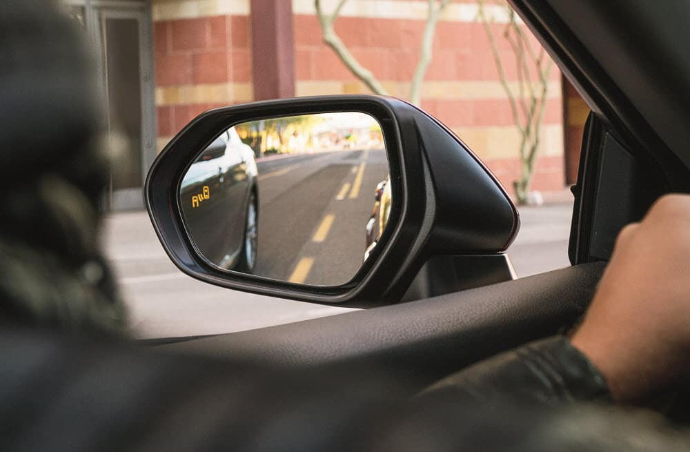 Toyota Camry Blind Spot Monitor Safety