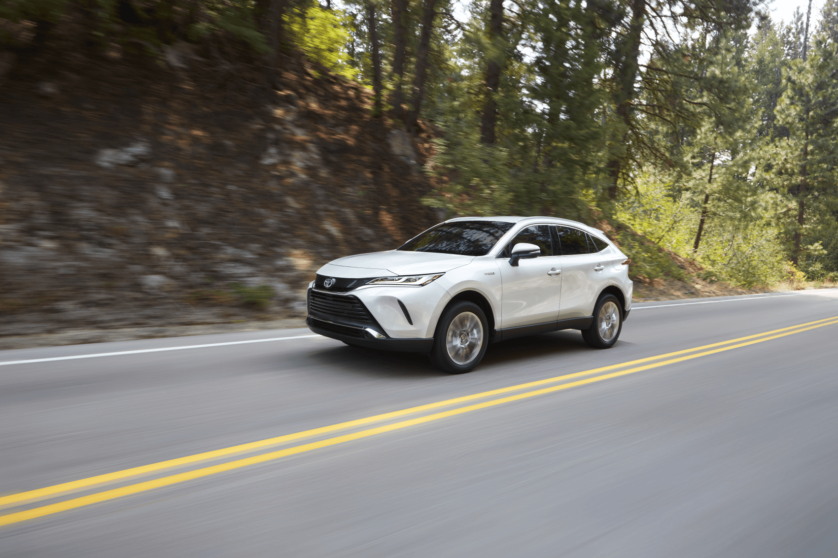 2021 Toyota Venza White Highway