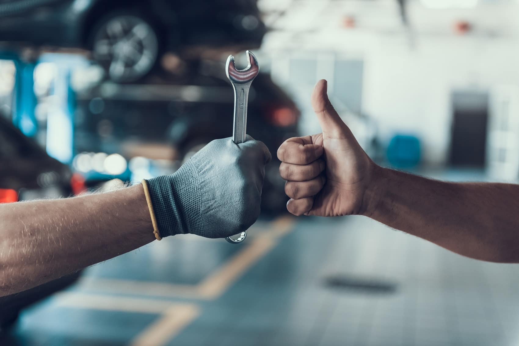 Thumbs up for good vehicle service