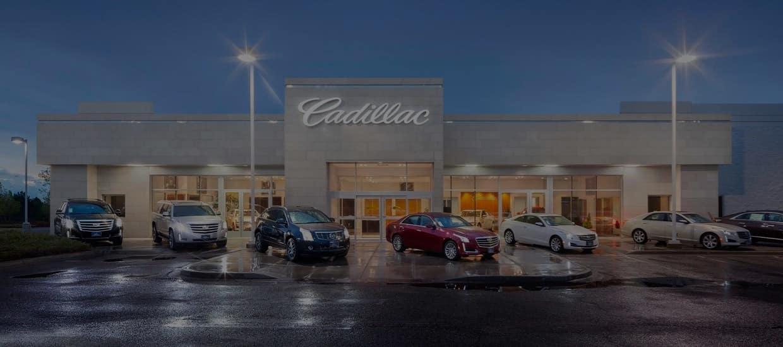An image of a Cadillac dealership