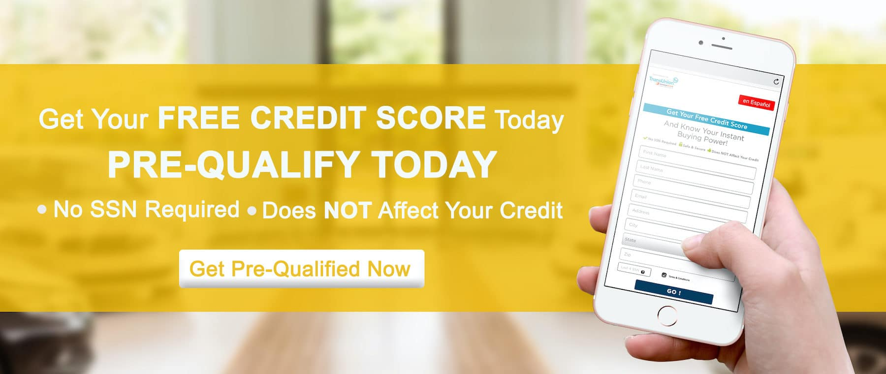 Get your free credit score today