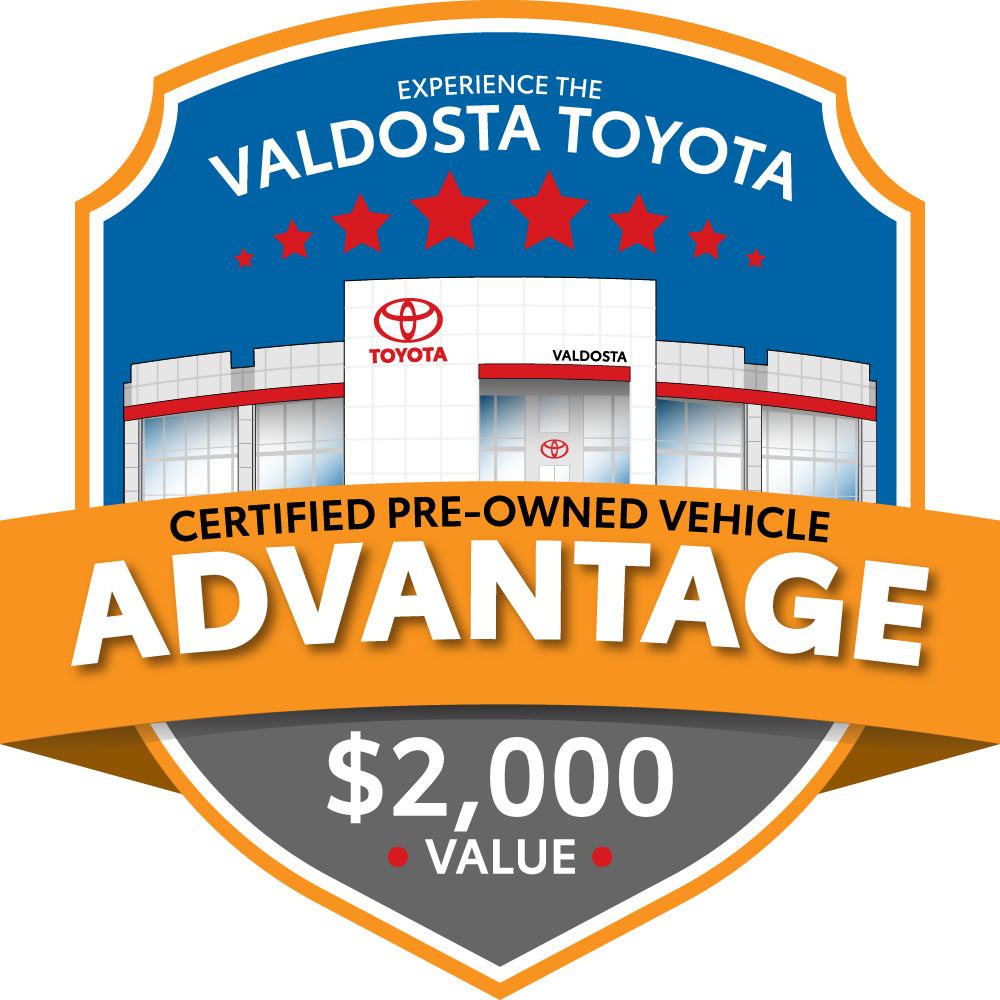 Valdosta Toyota Certified Pre-Owned Advantage logo