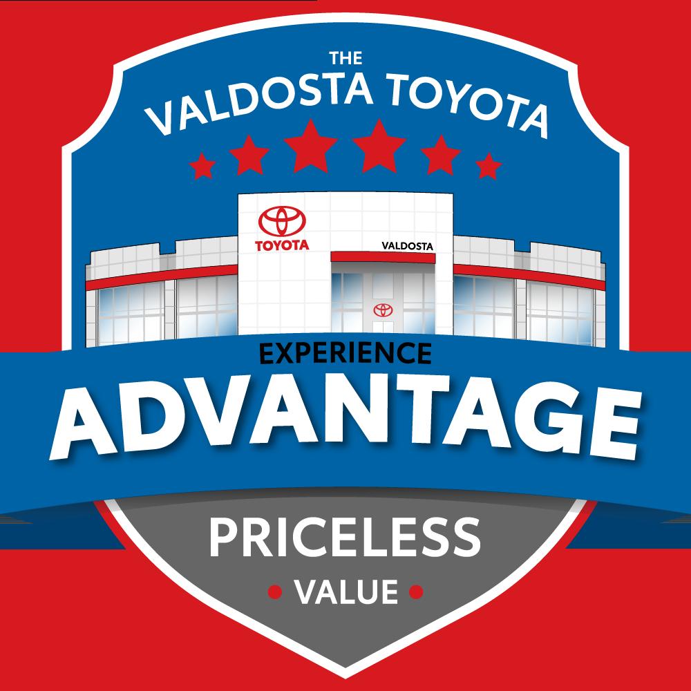 Valdosta Toyota Experience Advantage Logo