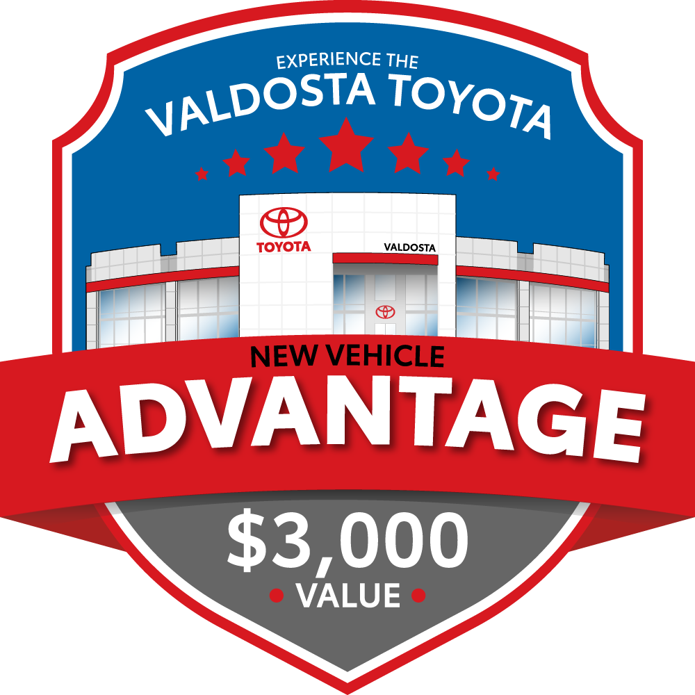 Valdosta Toyota New Vehicle Advantage