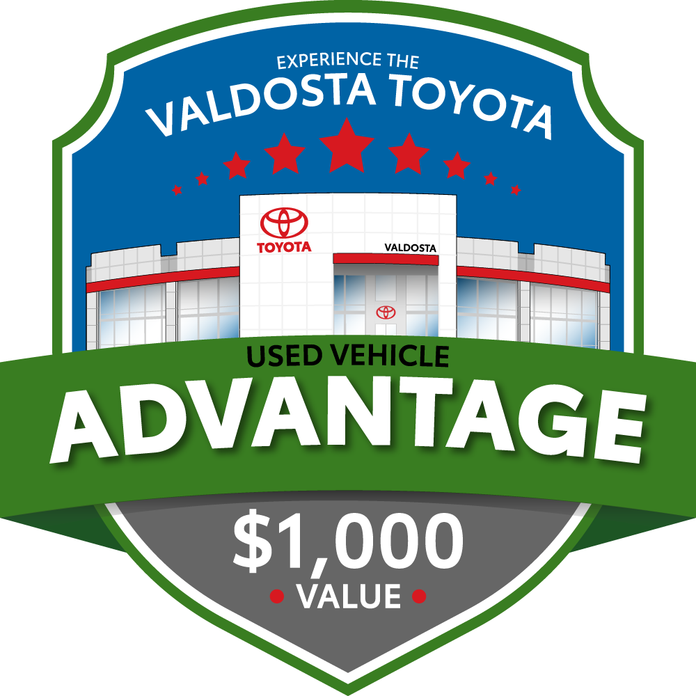 Valdosta Toyota Used Vehicle Advantage logo