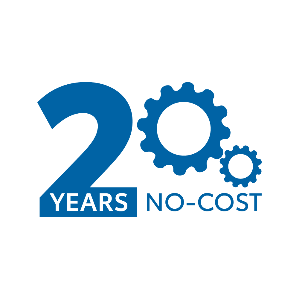 2 years maintenance logo
