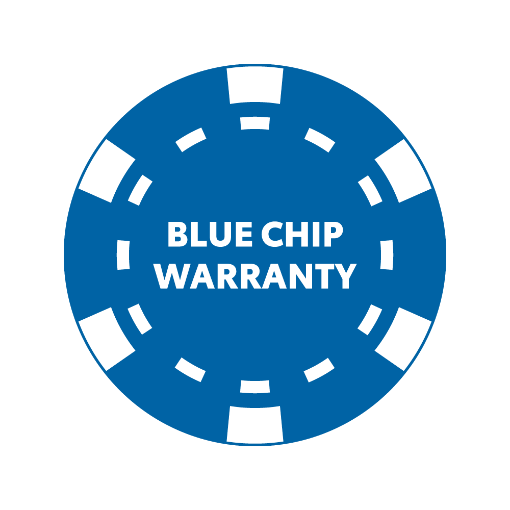 blue chip warranty logo