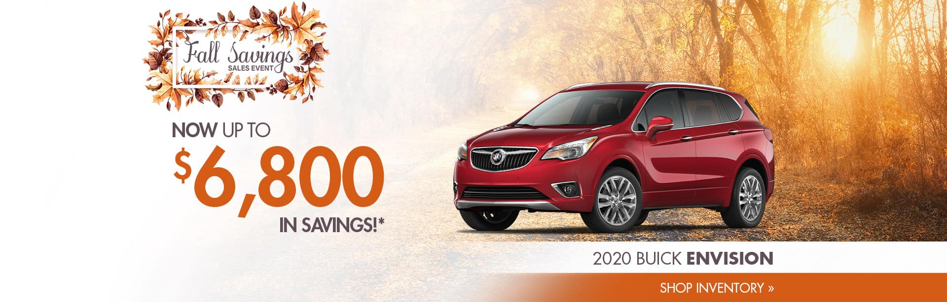 Save on a New Buick Envision near Rosedale, Indiana