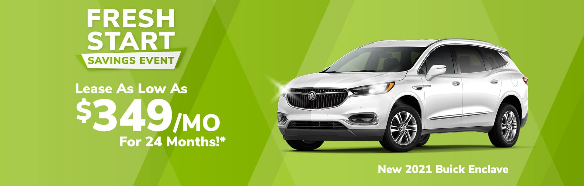 Lease Special on New Buick Enclave near Clinton, Indiana