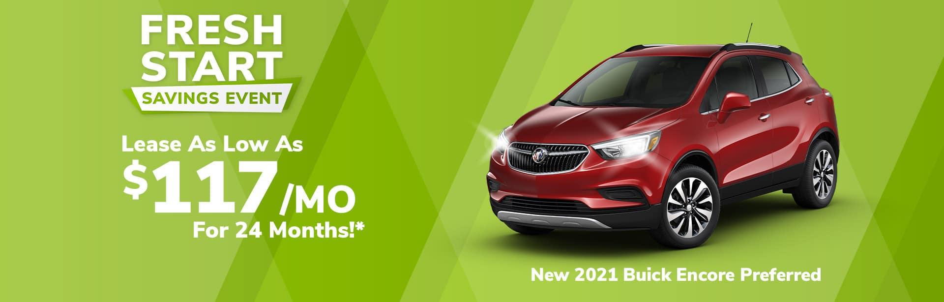 Best lease deal on the all-new 2021 Buick Encore near Brazil Indiana