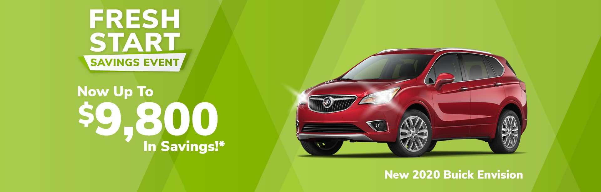 Rebate offer on a new 2020 Buick Envision near Brazil Indiana