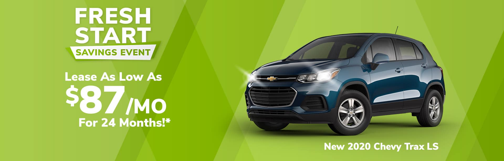 Best lease offer on a new Chevrolet Trax near Brazil Indiana
