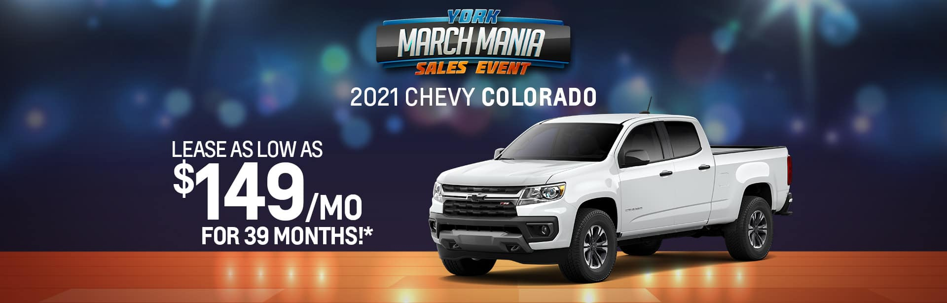 Best lease offer on a new 2021 Chevy Colorado near Brazil IN