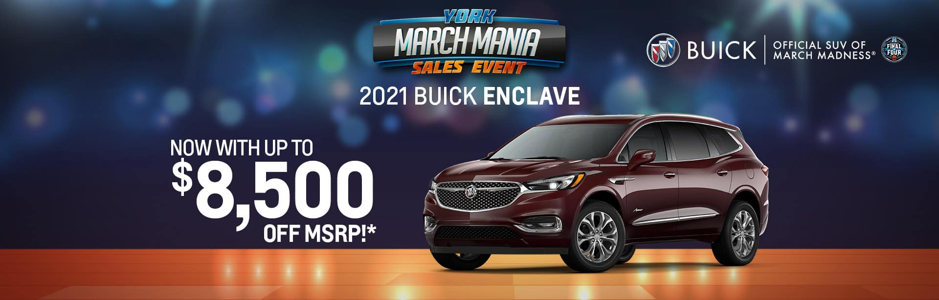 Best rebate offer on a new 2021 Buick Enclave near Brazil IN