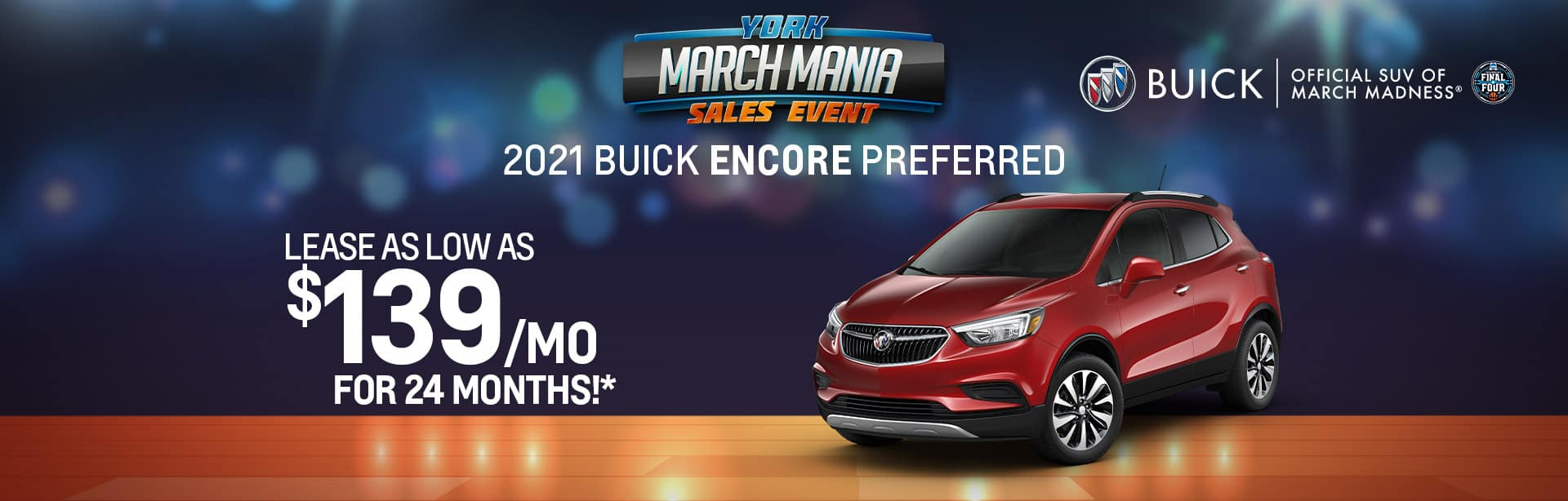 Best lease offer on a new 2021 Buick Encore near Indianapolis IN