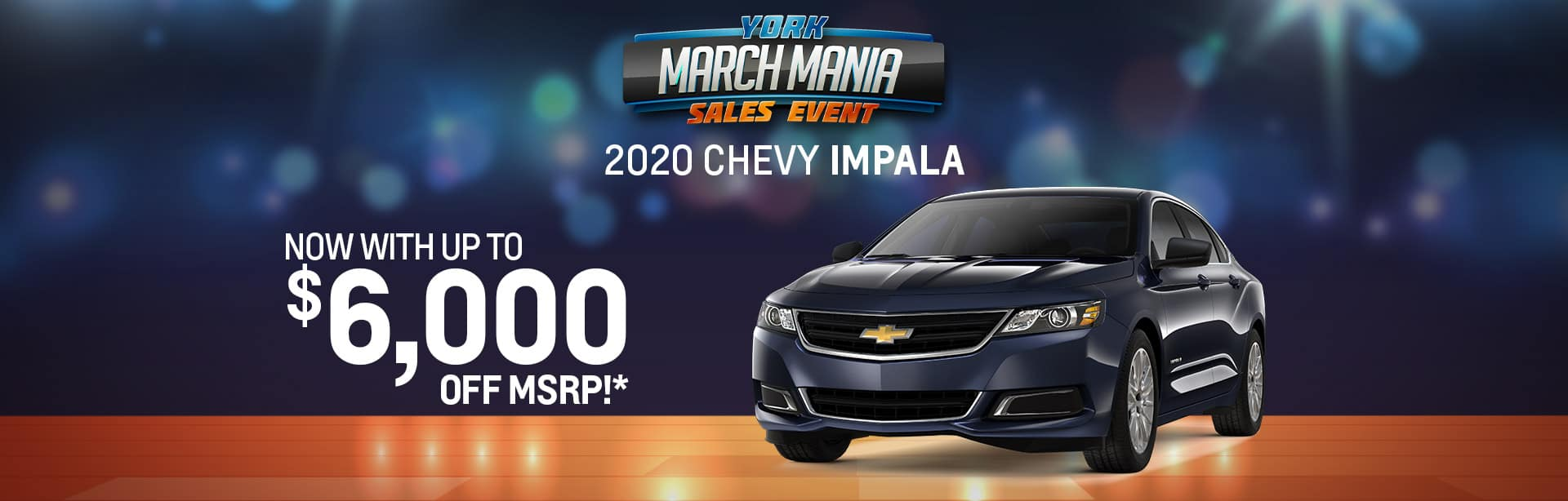 Best rebate offer on a new 2020 Chevy Impala near Brazil IN