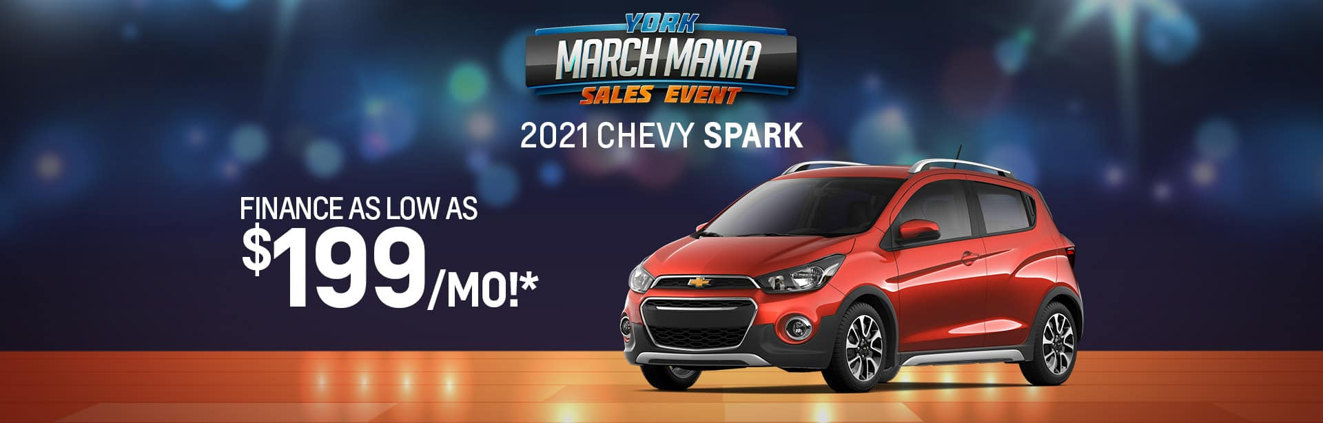Best finance offer on a new 2021 Chevy Spark near Brazil IN