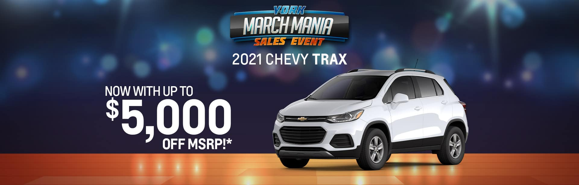 Best rebate offer on a new 2021 Chevy Trax near Brazil IN