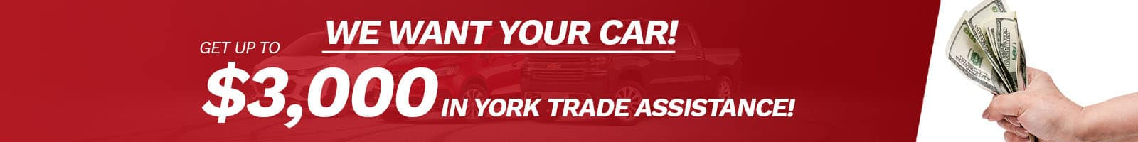 Get up to $3,000 in Trade Assistance at York